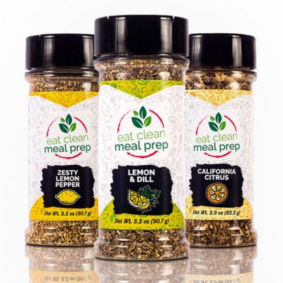 Citrus Combo 3 Pack Spice Blend from Eat Clean Meal Prep