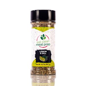 Lemon and Dill Seasoning from Eat Clean Meal Prep