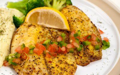 Easy, Healthy Garlic & Herb Tilapia Recipe